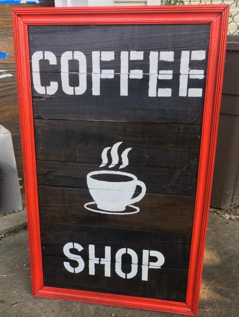 Detroit Deco's DIY Coffee Shop Sign create and share DIY ideas