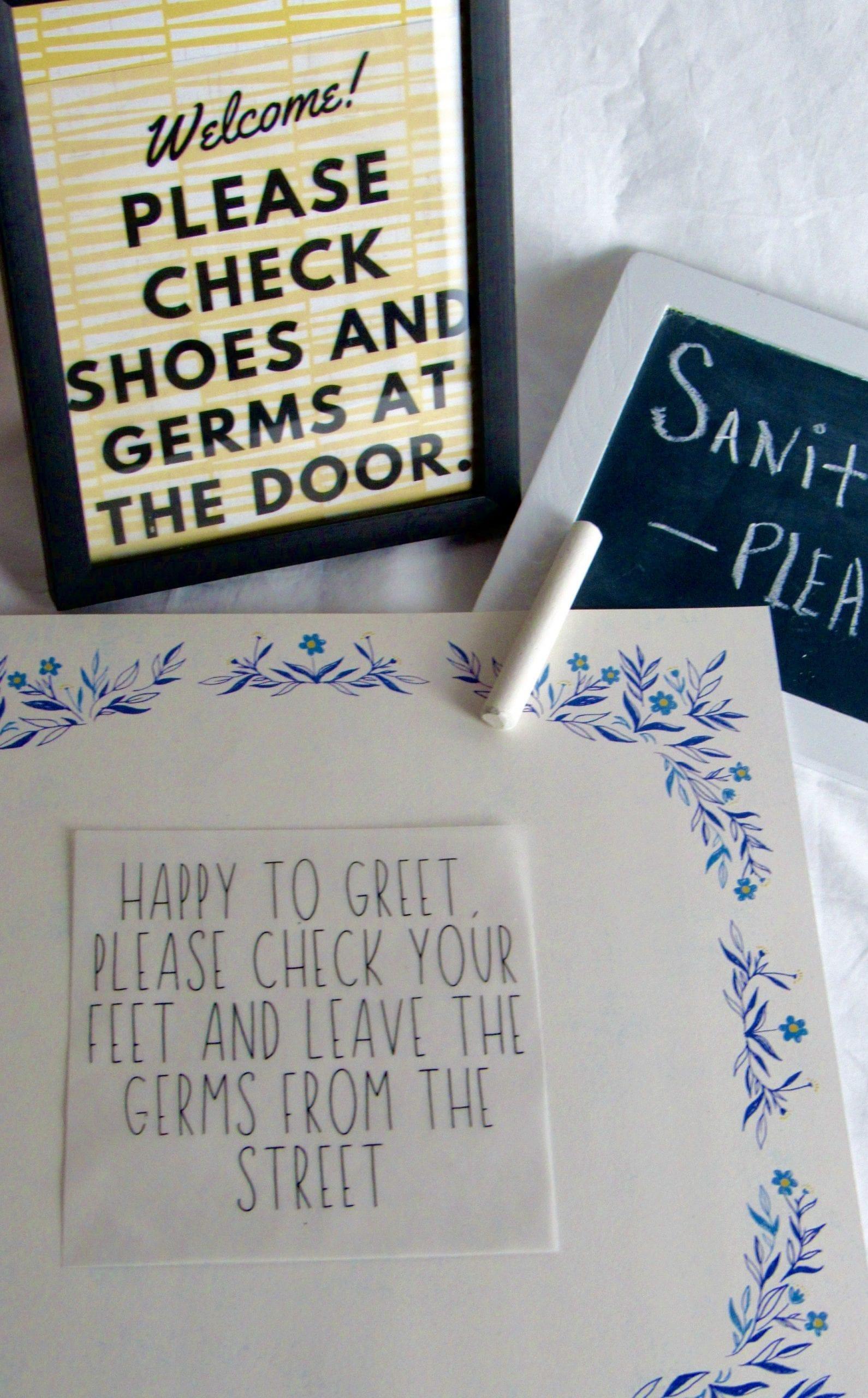 welcomes sign sayings diy printable