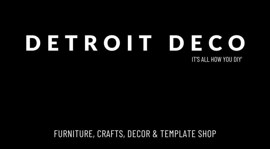 Detroit Deco Blog Logo